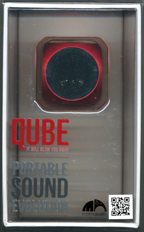 Matrix Audio QUBE red