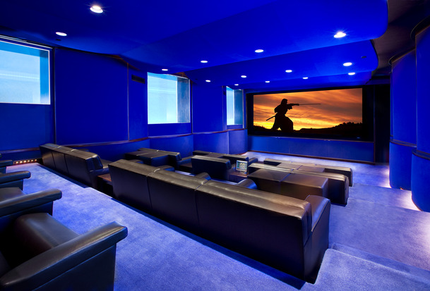 Introduction to projector screens david susilo uncensored - Home theater screen wall design ...