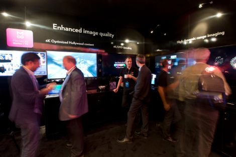 Technicolor HDR CES Demo Image