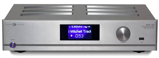 Introducing the Cary Audio DMS-500 Network Music Player
