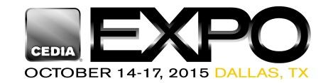 CEDIA 2015 logo