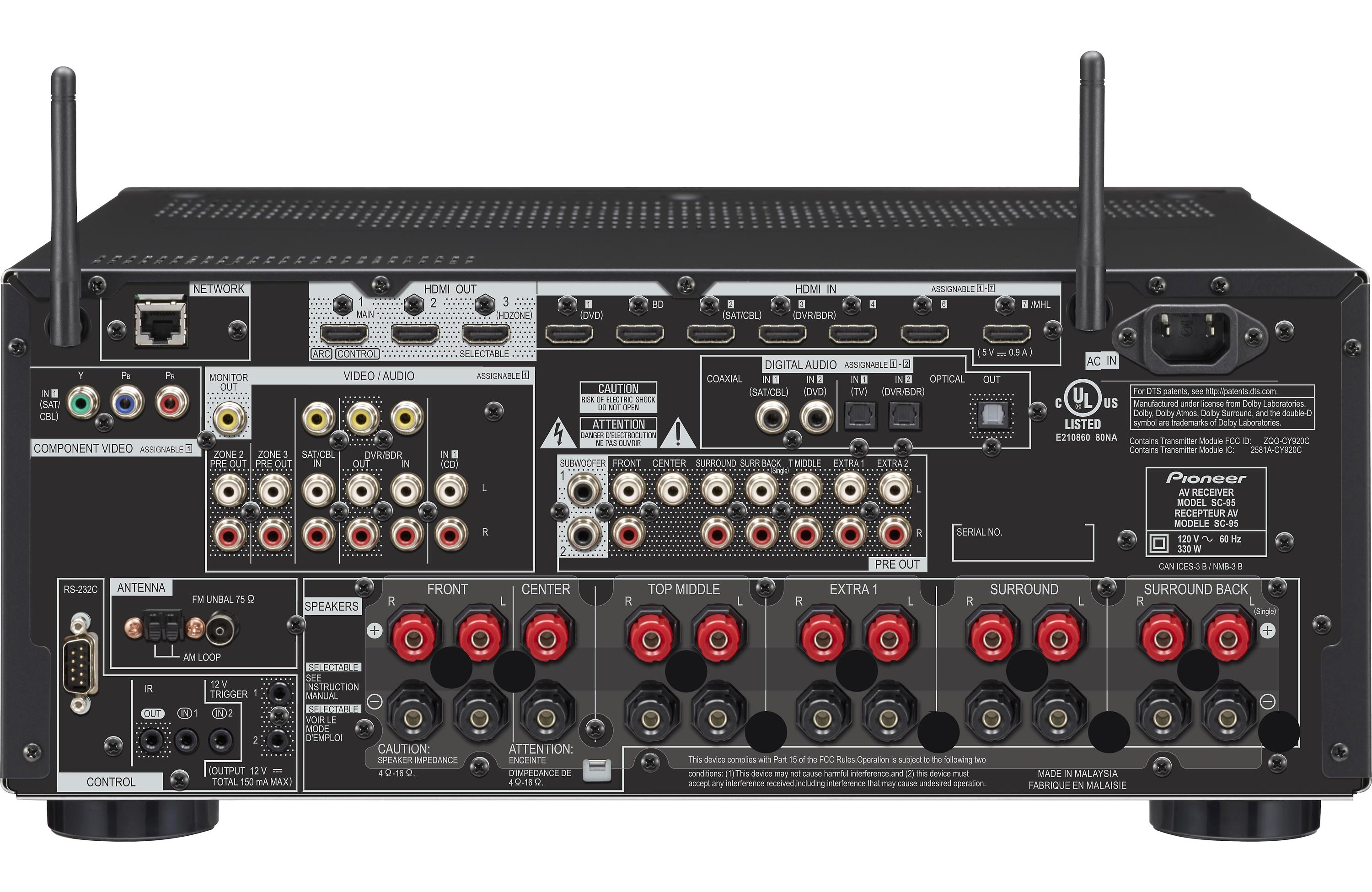 Pioneer Elite SC-95: Swiss Army Knife for the Home Theatre | david